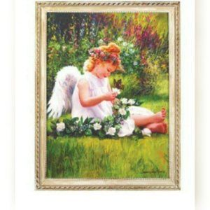 Sale New angel wall framed art
